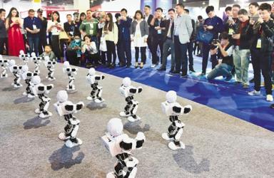 """酷炫""""黑科技""""  装备新智能 中国义乌国际智能装备博览会亮点抢先看"""