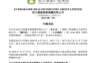 恒大健康:贾跃亭再提紧急仲裁 剥夺恒大资产抵押权