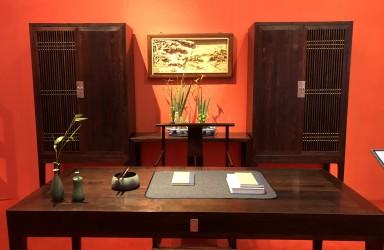 首届中国红木家具展览会4月26日浙江东阳启幕