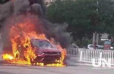 吉利汽车上半年销量下滑15% 两月发生两起自燃事故