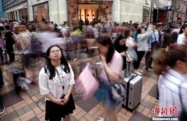 香港5月零售销货值跌1.3% 料旅游业增长可带来支持