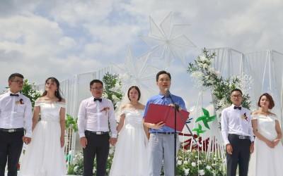 国是千万家:建华建材举行第十四届青年集体婚礼为家国情怀赋能