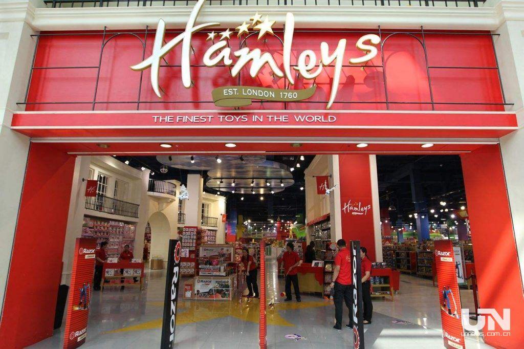 """百年玩具店Hamleys在中国""""玩不下去""""了?"""