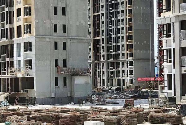 南昌中骏雍景湾项目塌陷 回应:或需两个月时间调查