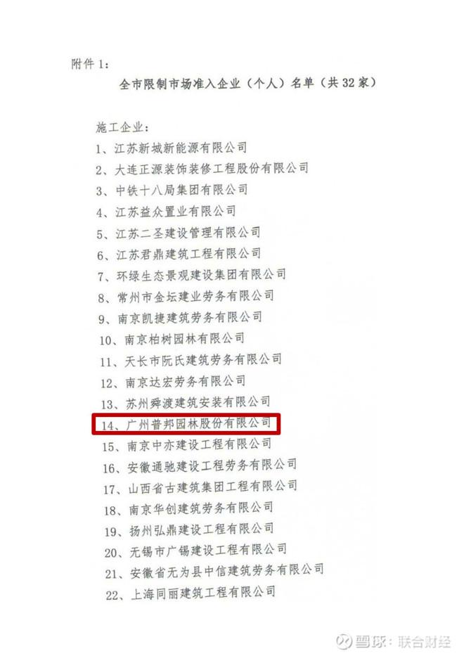 园林行业龙头普邦股份连续两年拖欠农民工工资,遭南京市场禁入和停产停业处罚